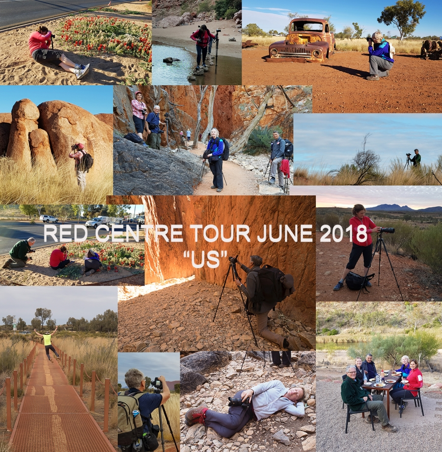 Red Centre Tour June 2018