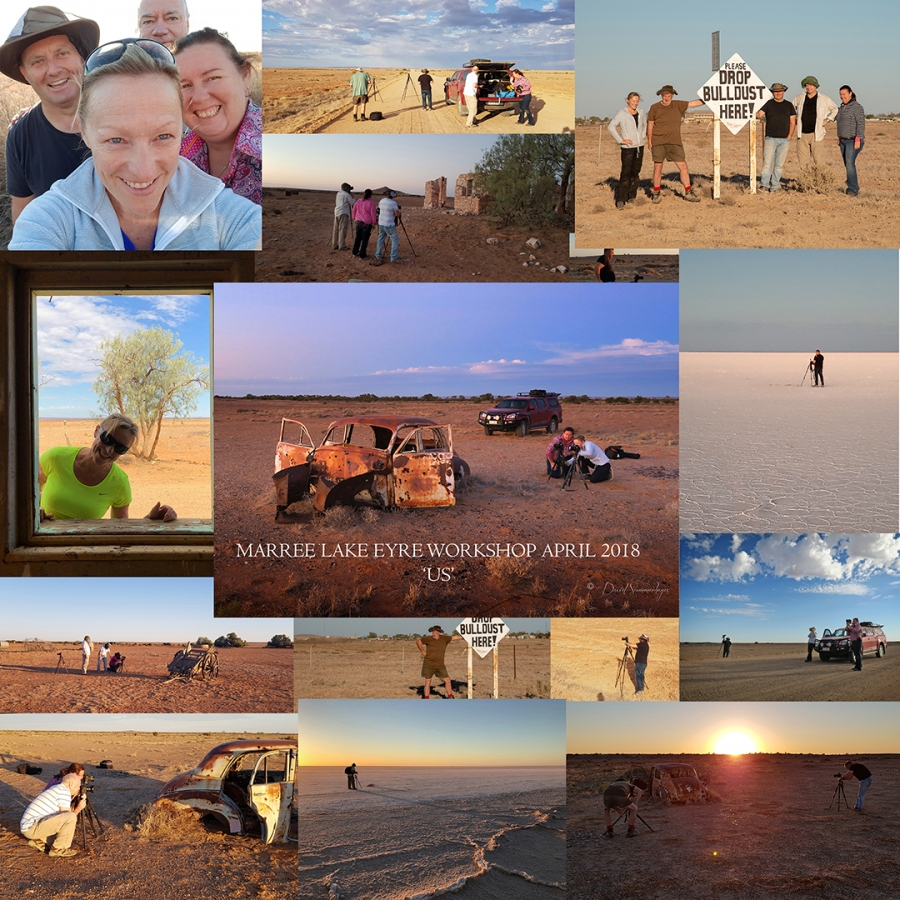 Marree Lake Eyre Workshops, listen and learn
